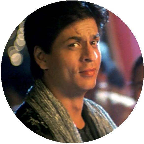 Rahul dans K3G joué par ShahRukh Khan l'homme de ma vie