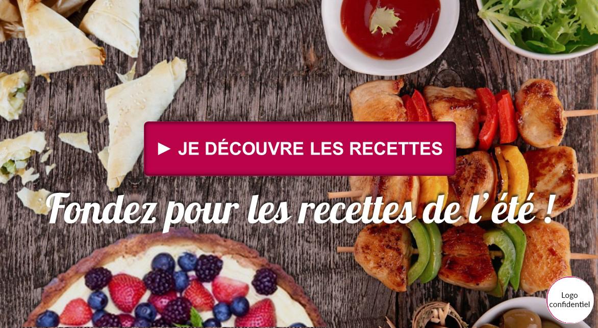 publicité facebook recette de cuisine